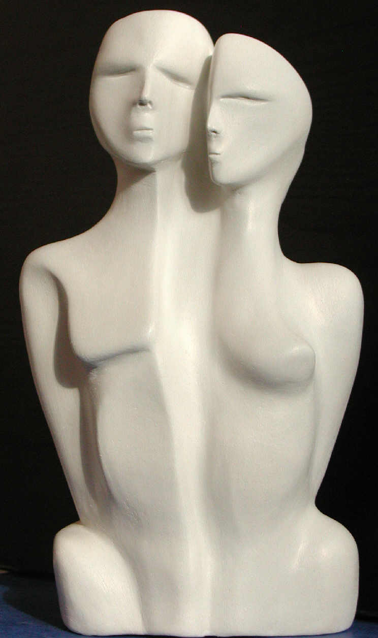 sculptures couple